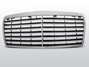 grille set avantgarde tyoe mercedes e-klasse w124 abs kunststof chroom