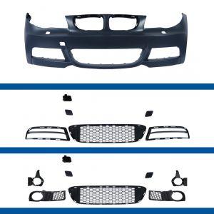 Voorbumper   BMW 1-serie E81 E82 E87 E88   voor M-pakket   ABS Kunststof