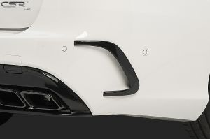 Air Intakes | Mercedes-Benz | C-klasse 14- 4d sed. W205 / C-klasse Cabriolet 16- 2d cab. / C-klasse Coupé 15- 2d cou. / C-klasse Estate 14- 5d sta. | Fiberflex AMG / AMG-Line |