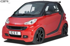 Frontspoiler | Smart | fortwo cabrio 07-10 2d cab. / fortwo cabrio 10-12 2d cab. / fortwo coupé 07-10 3d hat. / fortwo coupé 10-12 3d hat. | Fiberflex