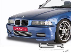 Voorbumper BMW E36 (zonder nierhouders) (alle) 1990-2000 GVK XX-Line