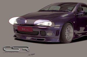 Motorkapverlenger Opel Tigra A Coup? 1994-2000 metaal X-Line