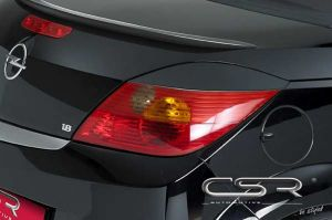 Achterlichtcovers | Opel | Tigra TwinTop 04-10 2d cab. | ABS Kunststof