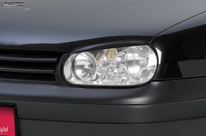 Koplampspoilers | VW  Golf 4  1997-2006 | ABS