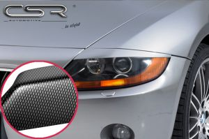 Koplampspoilers | BMW  Z4 E85/E86 Roadster / Cabrio 2002-2008 | ABS Carbon Look