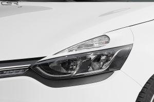 Koplampspoilers | Renault Clio IV Typ X98 alle vanaf 2012 | ABS