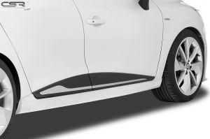 Side skirts | Renault Clio IV Typ X98 alle vanaf 2012 | Fiberflex