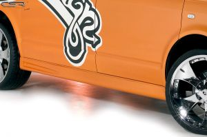 Side skirts | VW Bus T5 korte wielbasis 2003-2015 | Fiberflex