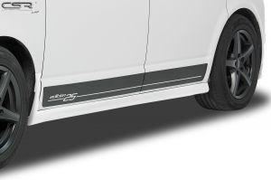 Side skirts | VW Bus T5 T6  vanaf 2003  Korte wielbasis| Fiberflex