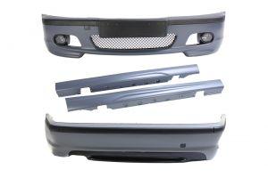 Bodykit | voor M-pakket | BMW 3-serie sedan E46 1998-2005 | ABS PP Kunststof