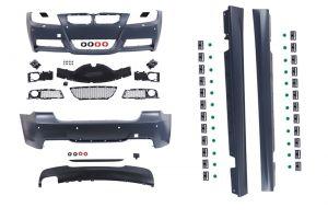 Bodykit | voor M-pakket | BMW 3-serie sedan E90 2005-2008 | ABS Kunststof