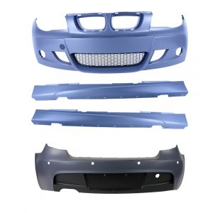 Bodykit | voor M-Pakket | BMW 1-serie 2004-2011 E87 | ABS Kunststof