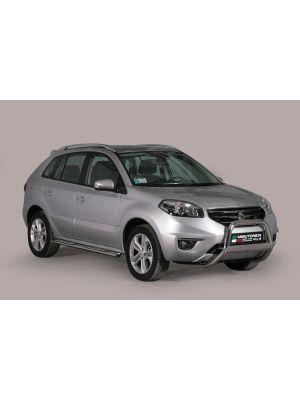 Pushbar | Renault Koleos 2011- | rvs zilver Medium Bar RVS CE-keur