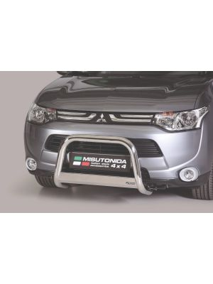 Pushbar | Mitsubishi | Outlander 12-15 5d suv. | RVS CE-keur