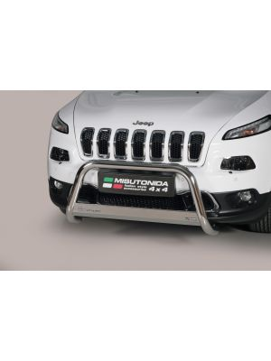 Pushbar | Jeep | Cherokee 14- 5d suv. | RVS CE-keur