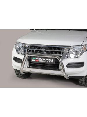 Pushbar | Mitsubishi | Pajero LWB 15-19 5d. suv / Pajero SWB 15-19 3d. suv | RVS CE-keur