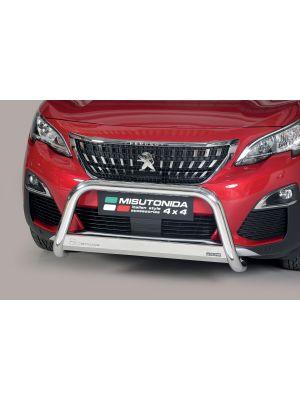 Pushbar   Peugeot   3008 16- 5d mpv.   RVS CE-keur