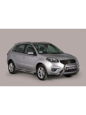 Pushbar | Renault Koleos 2011- | rvs zilver Super Bar RVS CE-keur
