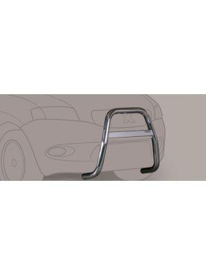 Pushbar | Toyota | RAV4 03-06 3d suv. / RAV4 03-06 5d suv. | rvs zilver High Medium Bar RVS