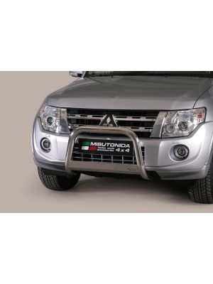 Pushbar | Mitsubishi | Pajero LWB 2007-2015 5d. suv / Pajero SWB 2007-2015 3d. suv | RVS