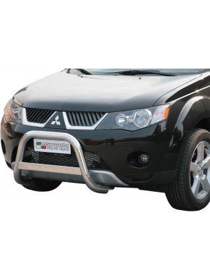 Pushbar | Mitsubishi | Outlander 07-10 5d suv. | zonder CE-Keur | RVS