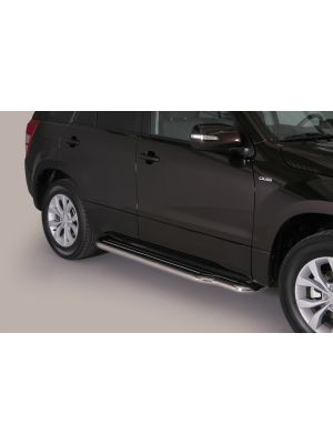 Side Bars | Suzuki | Grand Vitara 08-10 5d suv. / Grand Vitara 10-12 5d suv. / Grand Vitara 12-15 5d suv. | RVS
