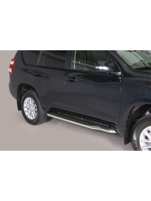 Side Bars | Toyota | Land Cruiser 10-13 5d suv. / Land Cruiser 13-17 5d suv. / Land Cruiser 17- 5d suv. | RVS