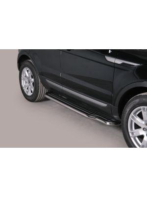 Side Bars | Land Rover | Range Rover Evoque 11-13 5d suv. / Range Rover Evoque 13- 5d suv. | RVS Pure & Prestige uitvoering | Pre-facelift