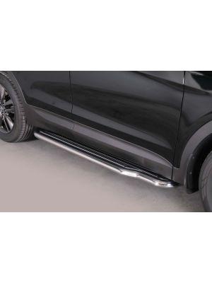 Side Steps / Sidebars   Hyundai Sante Fe 2012-   RVS