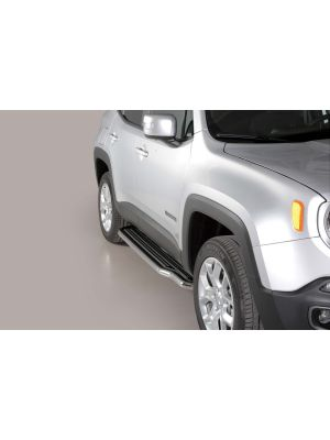 Side Bars | Jeep | Renegade 14- 5d suv. | RVS