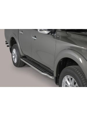Side Bars | Mitsubishi | L200 15- 4d pic. | D.C. | RVS