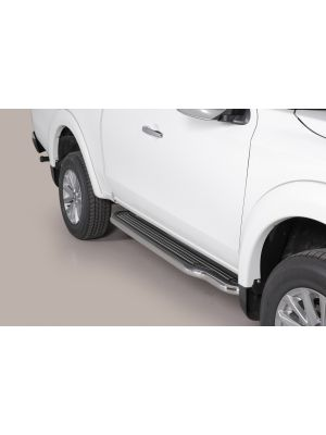 Side Bars | Mitsubishi | L200 15- 2d pic. | C.C. | RVS