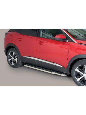 Side Bars | Peugeot | 3008 16- 5d mpv. | RVS