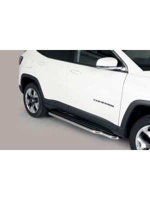 Side Bars | Jeep | Compass 17- 5d suv. | RVS