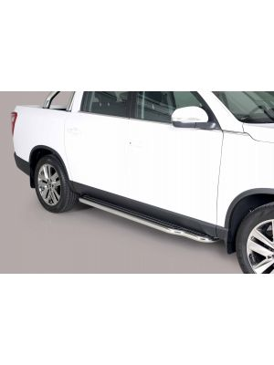 Side Bars | Ssangyong | Musso 18- 4d pic. | RVS