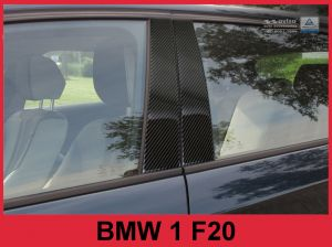 Sierlijsten B-Stijl | BMW | 1-serie 11-15 5d hat. F20 | Carbon zwart
