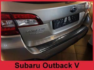 Achterbumperbeschermer | Subaru | Outback 15- 5d sta. | RVS