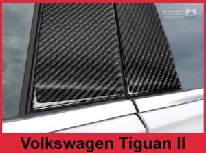 Sierlijsten B-Stijl | Volkswagen | Tiguan 16- 5d suv. | Carbon zwart
