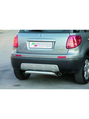 Rear Bar | Fiat | Sedici 07-09 5d suv. / Sedici 09-12 5d suv. / Sedici 12-13 5d suv. | RVS