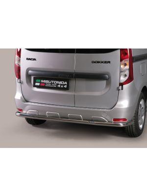 Rear Bar | Dacia | Dokker 13- 5d mpv. | RVS