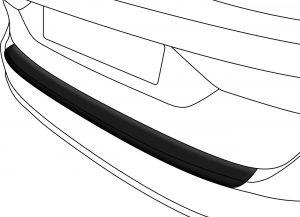 Achterbumper Beschermer | Volkswagen Golf MK VII 3/5 deurs 2013- | ABS Kunststof