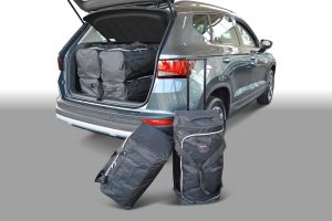 Reistassen set   Seat Ateca 2016-   diepe laadvloer   Car-Bags
