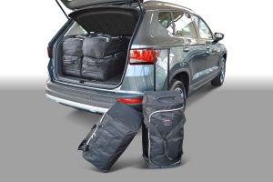 Reistassen set | Seat Ateca 2016- | hoge laadvloer | Car-Bags