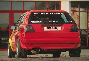 Spatbordverbreder | Volkswagen Golf I 1979-1983 | achter | stuk ongespoten gvk | Rieger Tuning
