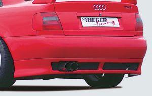Rieger achterskirt | A4 (B5): 11.94-98 - Avant, Lim. | stuk ongespoten abs | Rieger Tuning