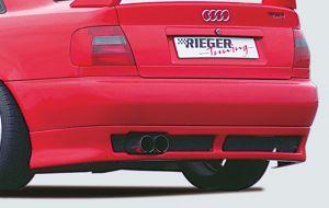 Rieger achterskirt | A4 (B5): 99-12.00 - Avant, Lim. | stuk ongespoten abs | Rieger Tuning