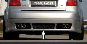 Rieger achteraanzetstuk | A4 (8E) Type B6: 11.00-10.04 - Avant | stuk ongespoten abs | Rieger Tuning