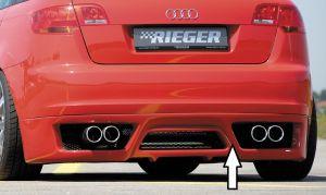 Rieger achteraanzetstuk | Audi A3 8P 2004-2008 Sportback