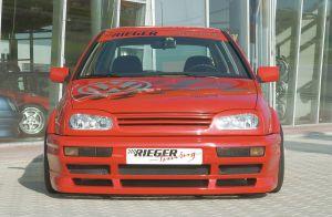 Aluminiumgaas voor Volkswagen Golf 3 voorbumper |  | stuk aluminium | Rieger Tuning