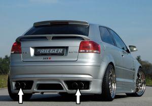 Rieger ESD, li/re, Typ 12, Audi A3 (8P) | Audi A3 8P 2003-2005 3D | ABS